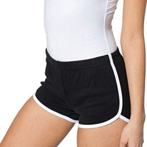 Striped Athletic Shorts