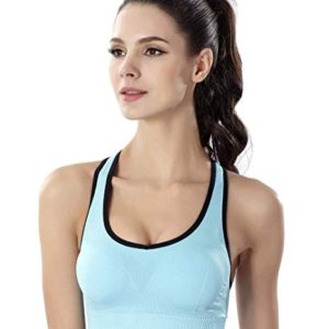 Zipper Front Yoga Bra