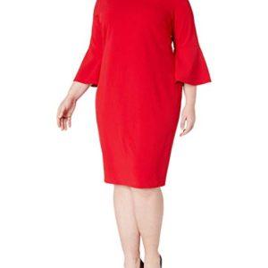 Sleeve Sheath Dress