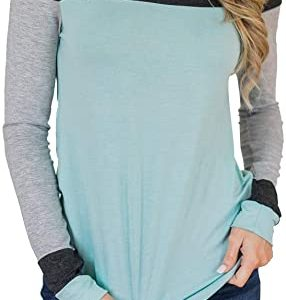 Tunic Color Block Tops