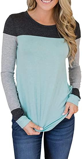 Tunic Color Block Tops