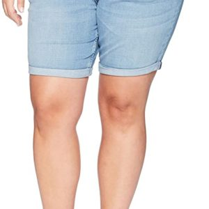 Cuff Denim Short