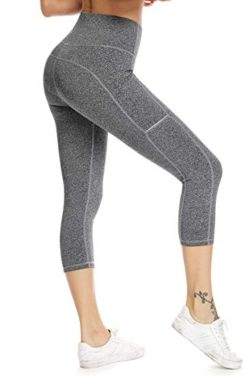 Womens High Waist Yoga Pants Yoga Leggings with Pockets