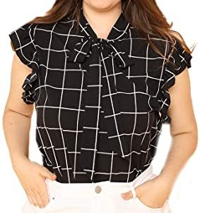 Work Blouse Tops