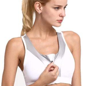 Front Zip Sports Bras