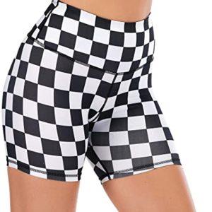 Print Yoga Shorts