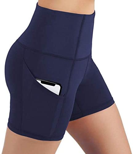 Tights Yoga Shorts with Side Pockets - WF Shopping