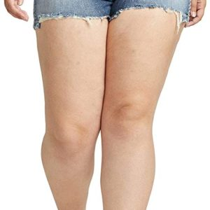 Curvy Fit Mid Rise Short