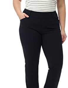 Plus Size Pull-On Bootcut