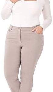 Pocket Straight Leg Pant