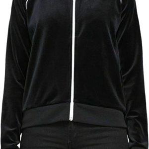 Full Zip Velour Jacket