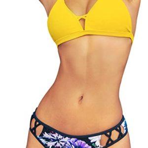 Floral Strappy Bikini Sets