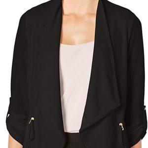 Jacket With Drawstring