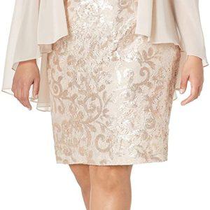 Capelet Cocktail Dress