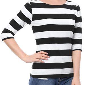Striped T-Shirt Top