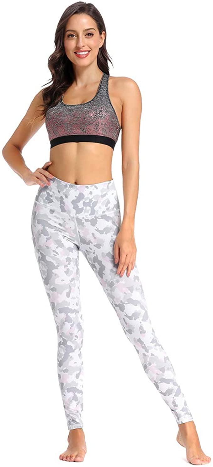 Womens Workout Leggings Phone Pocket Running Yoga Pants