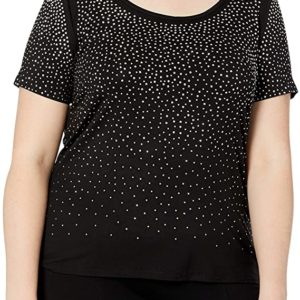 Plus-Size Scatter T-Shirt