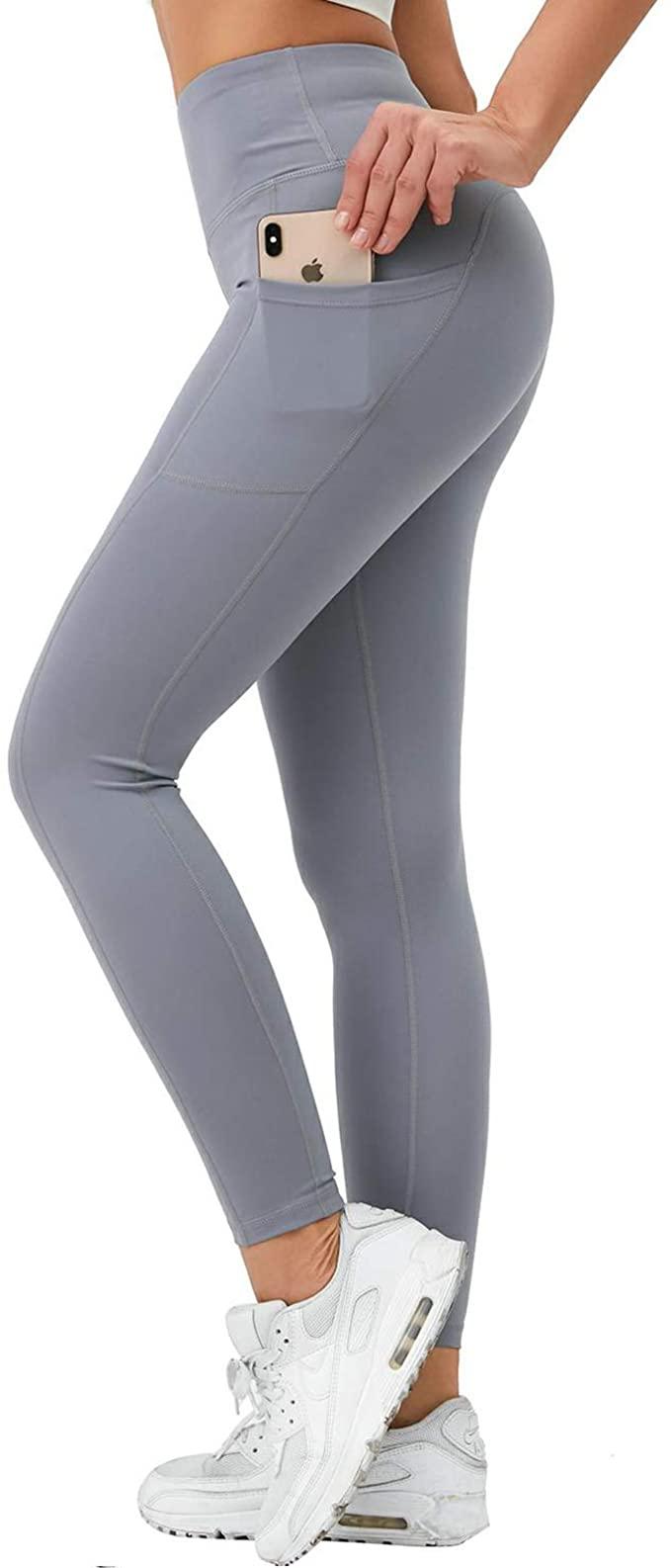 Liangxing Women Yoga Shorts Side Pockets - WF Shopping