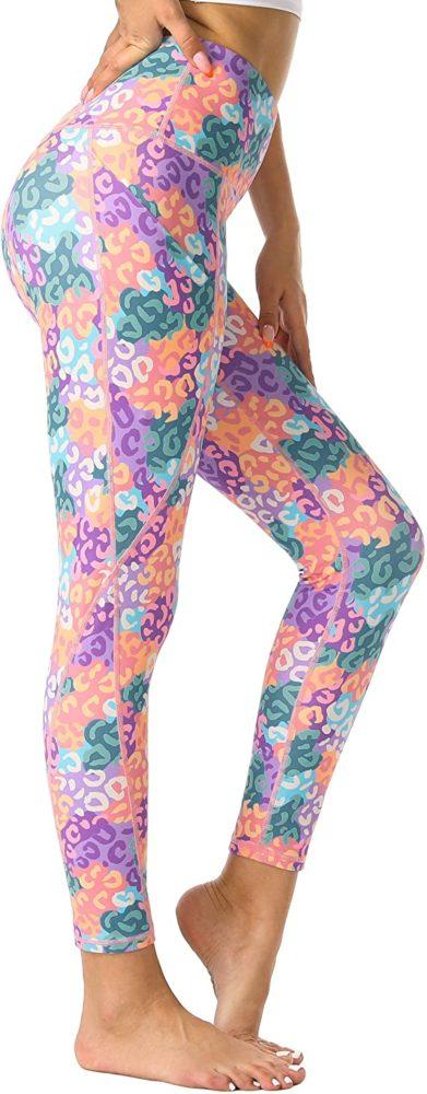 Women Yoga Pants with Pockets - Tummy Control - WF Shopping