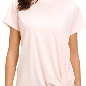 Knot Front T Shirts