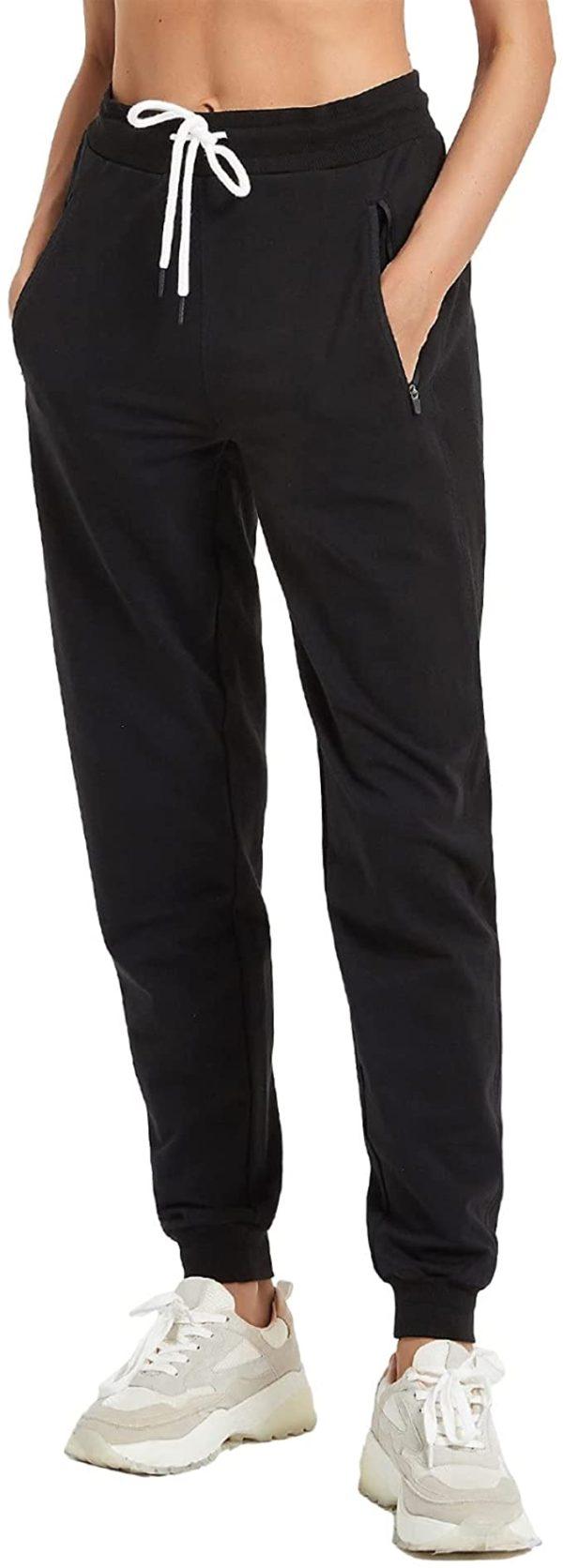 Pants with Zipper Pocket