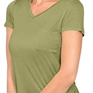 Short Sleeve V-Neck