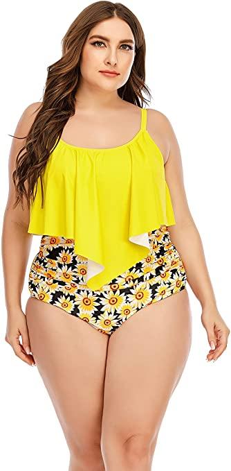 Plus Size Bikini Set