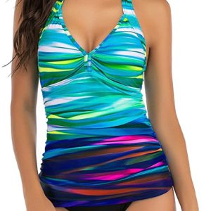 Ruched Tankinis Swimwear