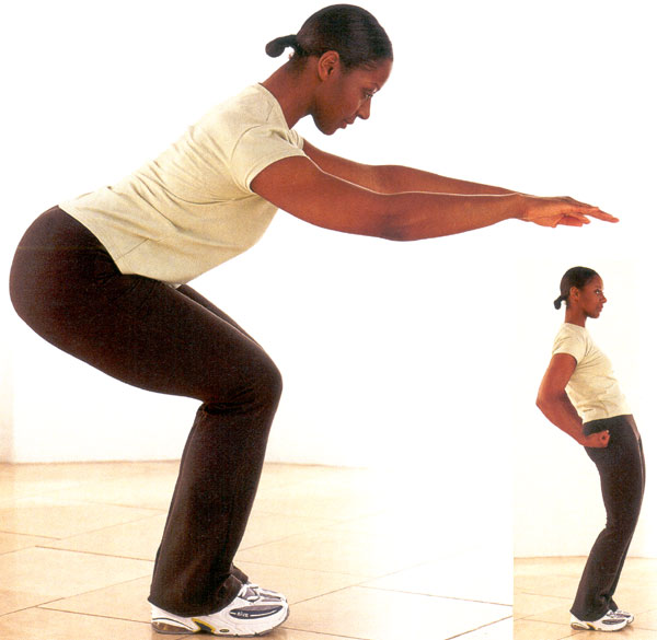 Leg Stretches After Squats And Stretch The Legs