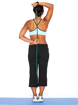 Tricep Extension With Resistance Band
