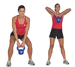kettlebell exercises for toned abs