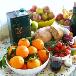 Mediterranean style diet slow down aging: A Study
