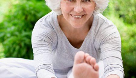 yoga poses seniors