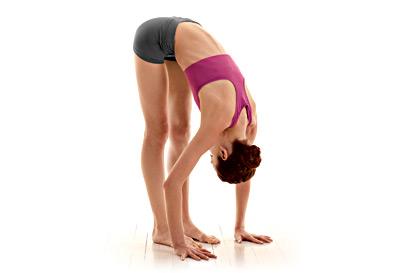 Bending Forward Pose