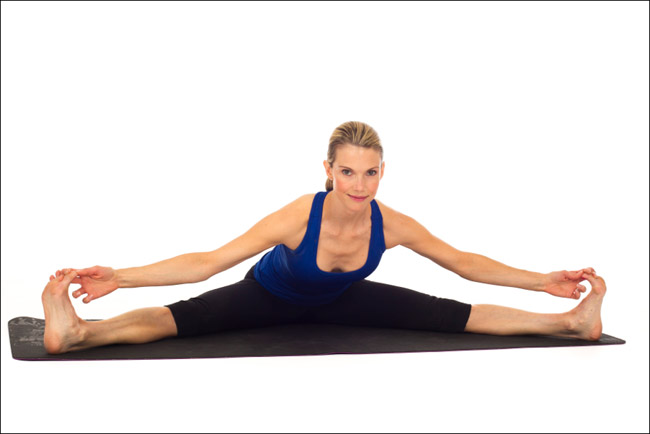 Stretching-groin