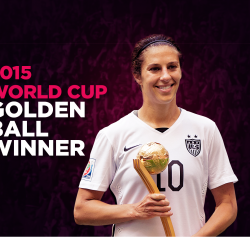 Carli Lloyd: Two-Time Olympic Gold Medalist In Professional Soccer Reveals Her Success Story
