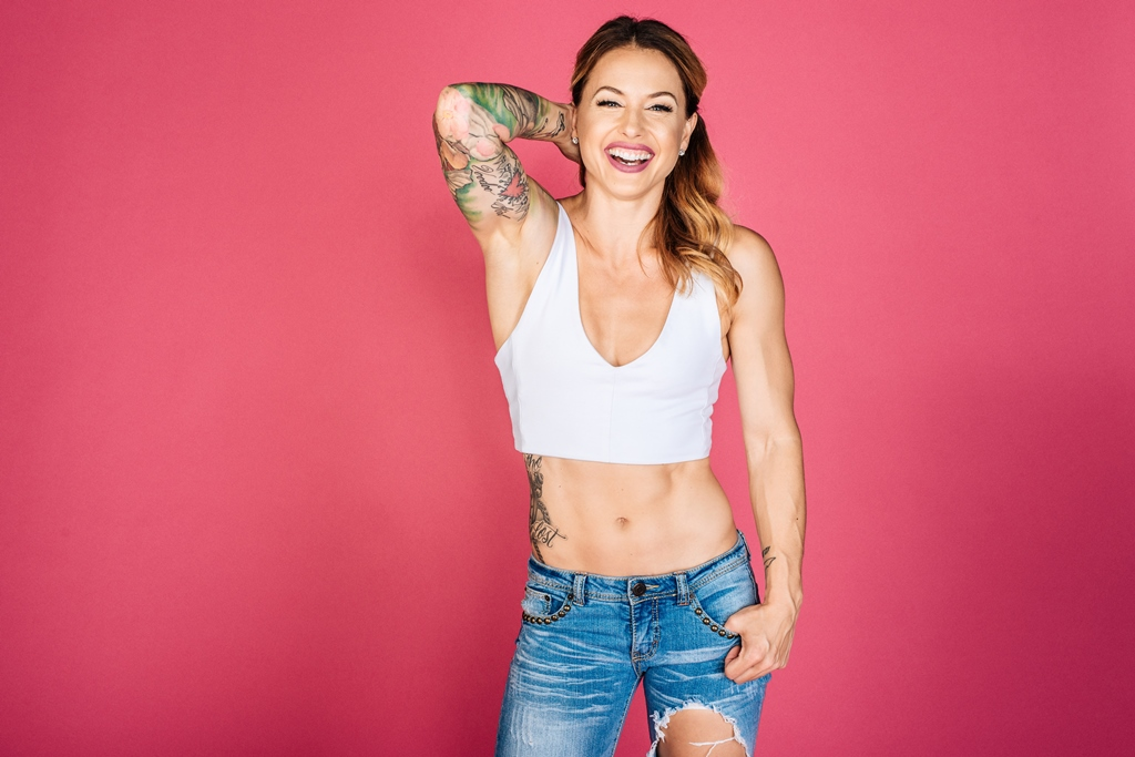 Christmas Abbott, Olympic Weightlifter & Crossfit competitor