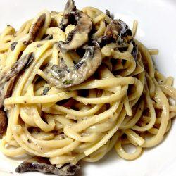 Cremini Mushrooms Linguini