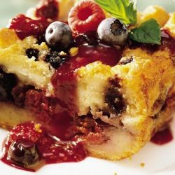 Fruity Bread Pudding