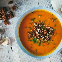 Golden Pepper Orange Soup