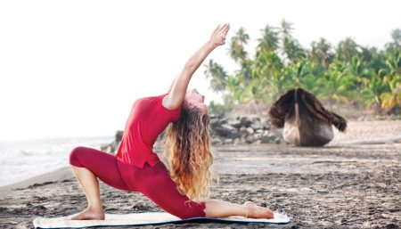 yoga action
