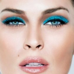 Blue Eye Make-up is Back, with a Bang!