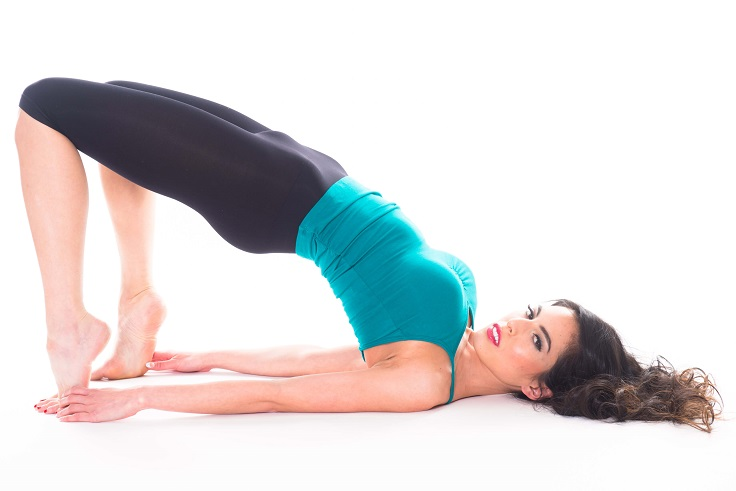 Counting health benefits of Setu Bandha Sarvangasana