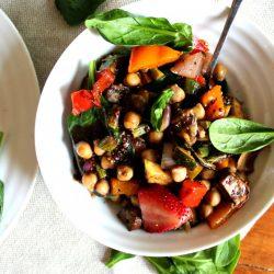 Chickpea Vegetable Salad