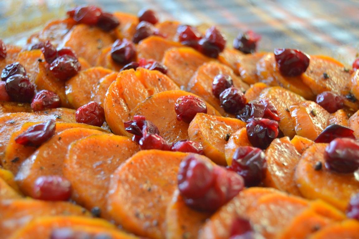 Cider-Glazed Sweet Potatoes