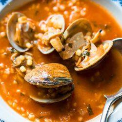 Clam Pasta Soup