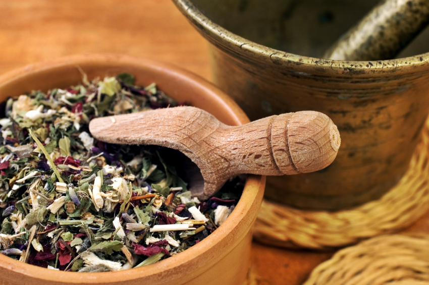 Herbs Manage Fibroids