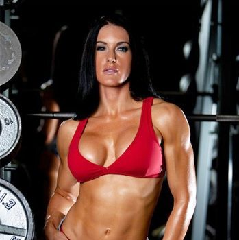 Samantha Baker Graham, swimsuit model and NPC figure competitor