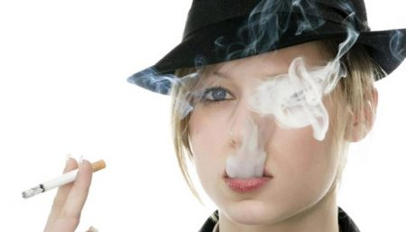 Smoking Eye Damage
