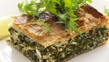 Spinach Cottage Cheese Timbale